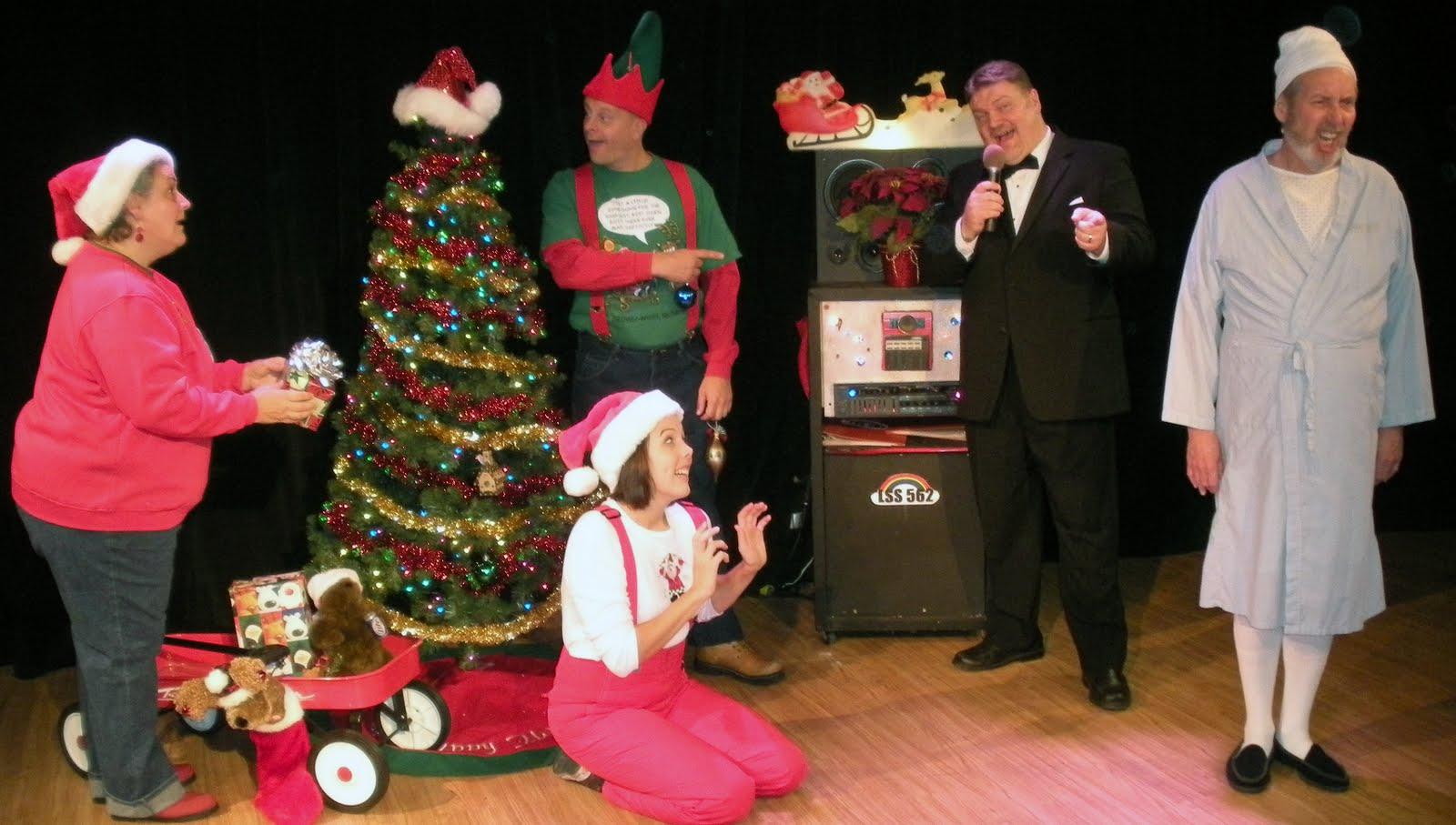 Don't Hug Me is an entertaining Christmas show |